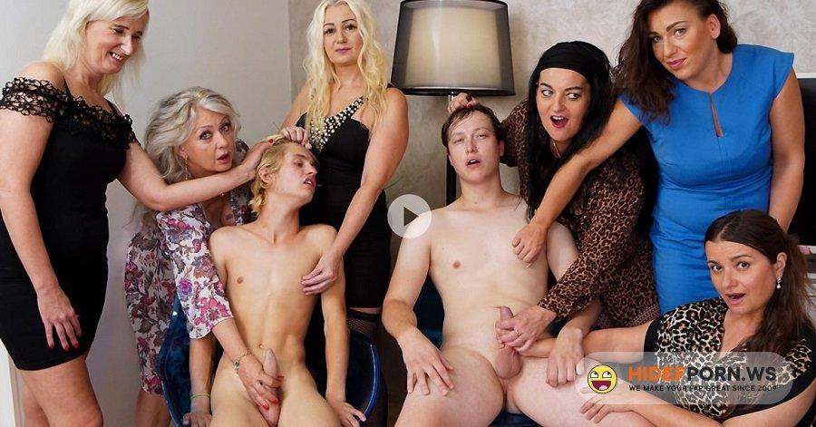 Mature.com - Veronique, Mia S, Inna, Yvette, Luka Blond, Sharia Venom - Mature Wooman Play With ToyBoy [FullHD 1080p]