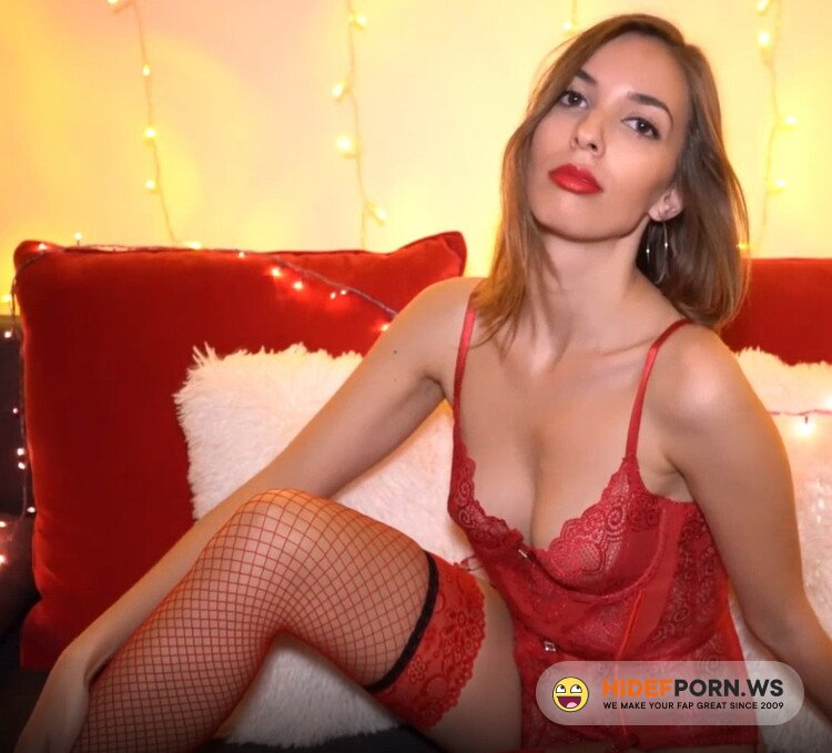 SweetBunnyHub.com - Sweet Bunny - Sexy Red Lingerie Tease And Masturbation With Fit College Girl [FullHD 1080p]